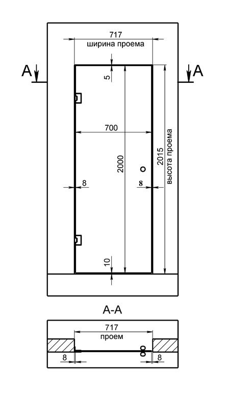 специальное предложение на стандартные двери