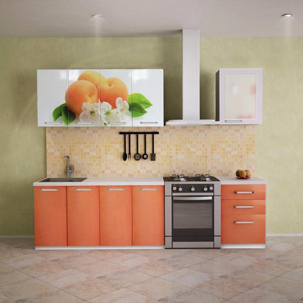 МДФ фасады для кухни с фотопечатью