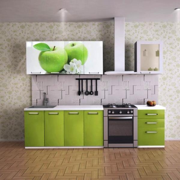 кухонные фасады МДФ с фотопечатью