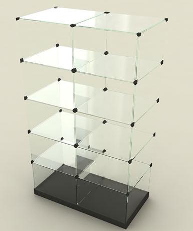 Купить витрины стеклянные для косметики