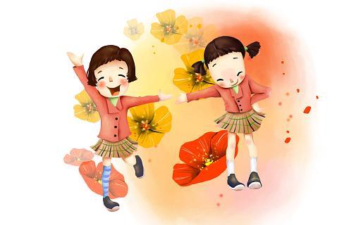 Детские цветы картинки нарисованные 6