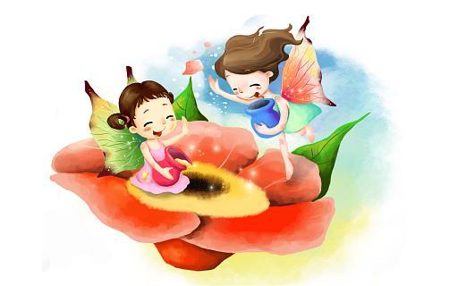 Детские цветы картинки нарисованные 5