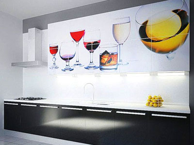 МДФ фасады для кухни с УФ фотопечатью