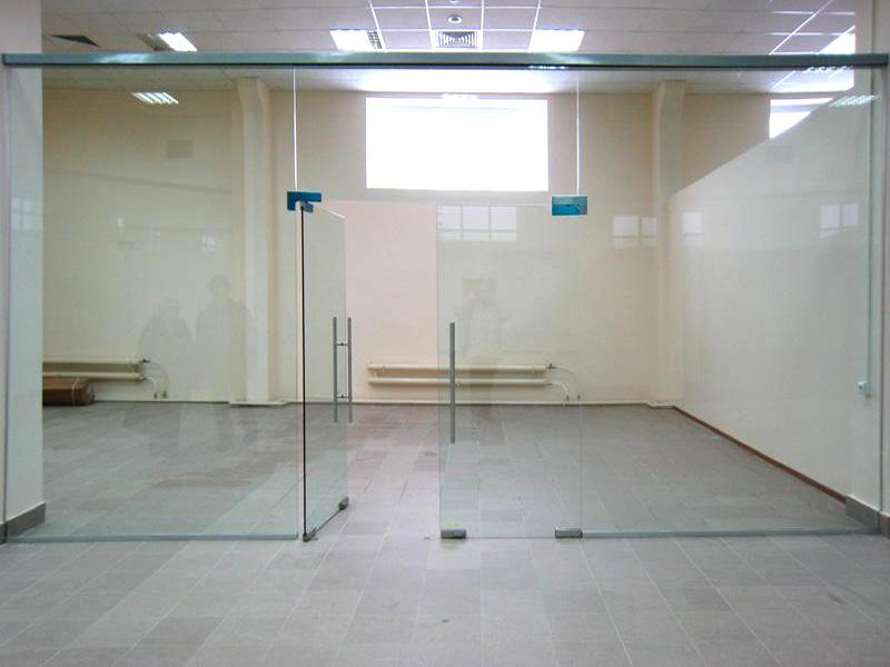 стеклянные перегородки. фото