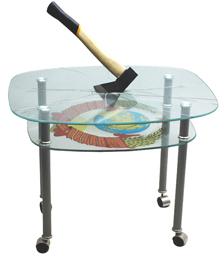 стекло триплекс осколки образец